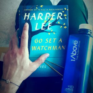 My long haul essentials: A new book and 1Above - The Flight Drink