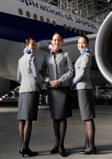 ANA All Nippon Airways cabin crew
