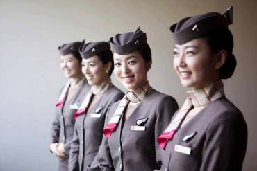 Asiana Airlines cabin crew