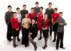 Cathay Pacific cabin crew