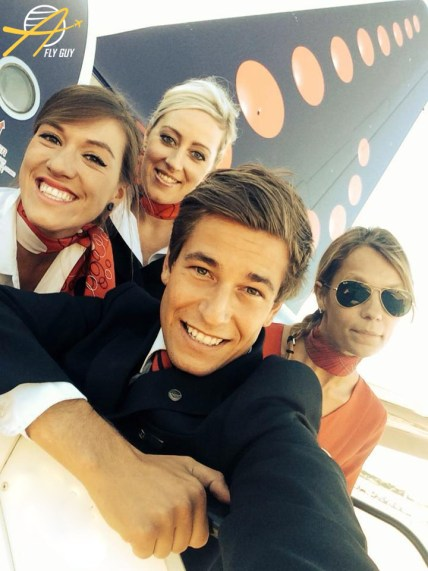 Brussels Airlines cabin crew