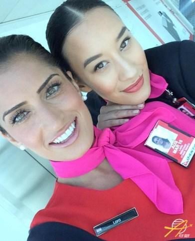 Qantas cabin crew