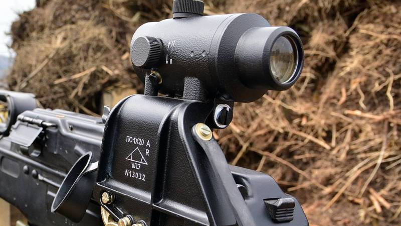 Italy purchases Russian Schwabe optical sights for installation on Saiga,Vepr and Tiger rifles