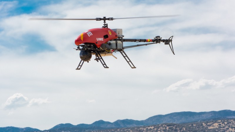 Spain boosts UAVs capabilities with Alpha 800 Helicopters