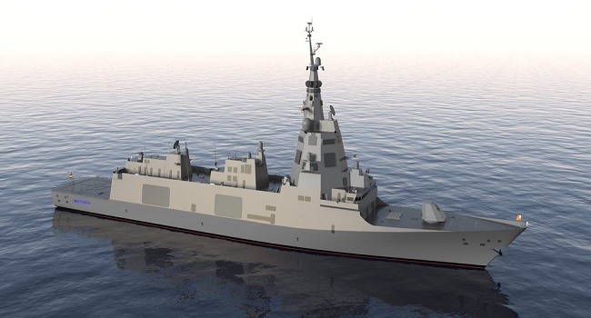 Spanish Navy selects Thales to deliver ASW sonar suites to new F-110 frigates