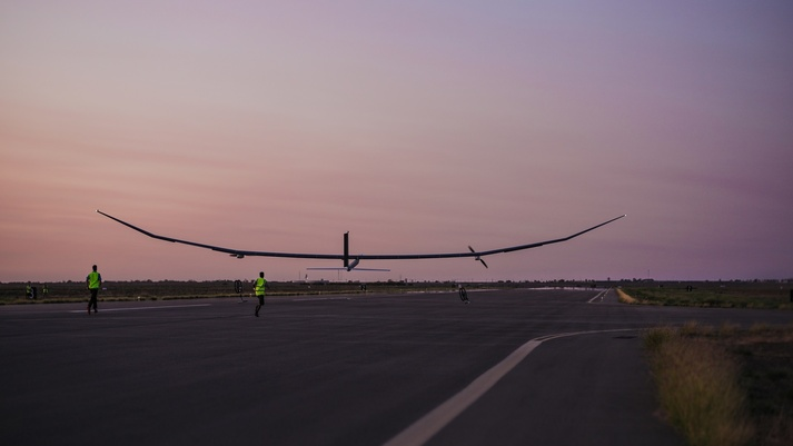 Solar-powered Persistent High Altitude Solar Aircraft  makes first flight