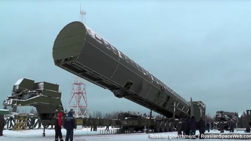 Russian Army to get RS-28 Sarmat missiles in 2021