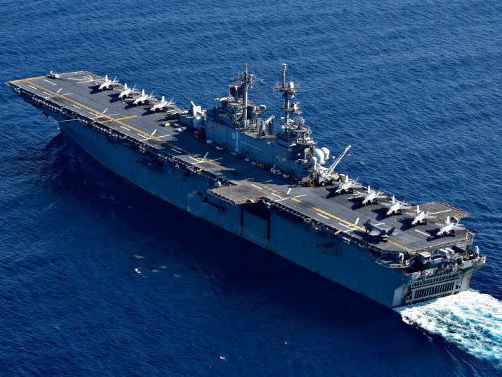 US Navy deploys USS America and USS Bunker Hill amid tensions between China and Malaysia