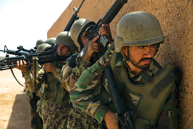 Afghan anti terrorism forces kill Taliban leader Mullah Khaliq in Balkh province