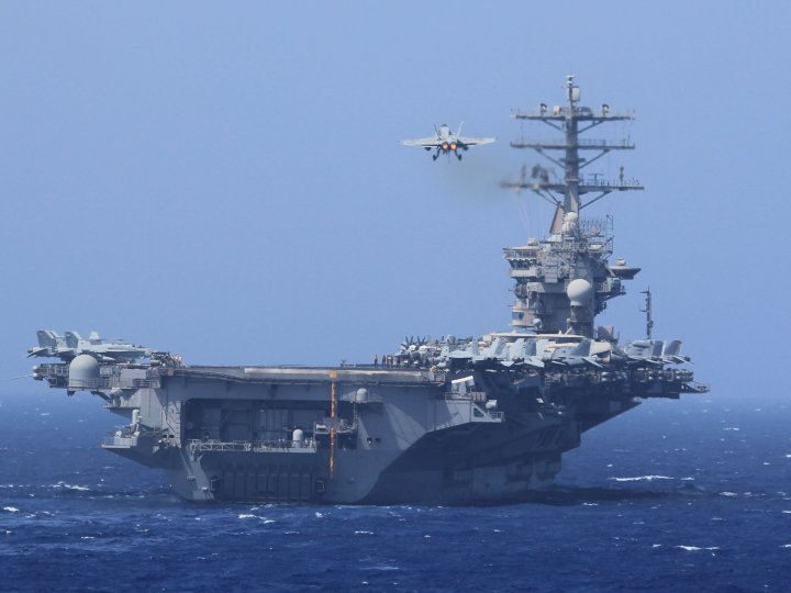 US Navy denies allegations of COVID-19 cases onboard USS Nimitz aircraft carrier