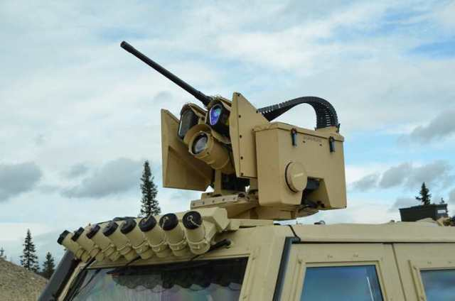 Protector Remote Weapon Stations (RWS) - Kongsberg