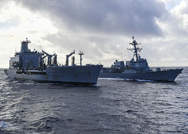 Iranian vessels come 'dangerously' close to US Navy in the Gulf