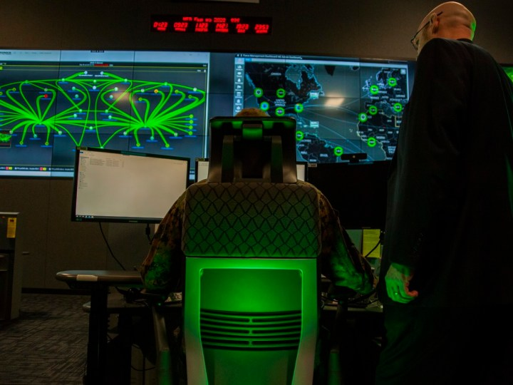 US Commander discusses  DOD Cyber Power