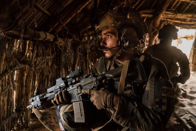 "Operation Barkhane: Joint hunt actions successfully hit terrorists' groups in the Malian ""Three Borders"" zone."