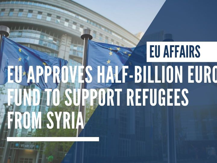 EU approves half-billion euro fund to support refugees from Syria