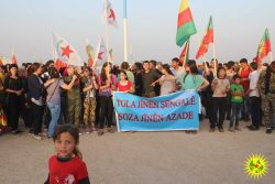 Co-operatives and Ezidî solidarity march