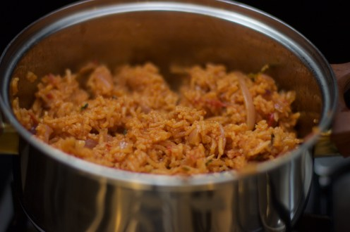 5. Voila - Enjoy your jollof