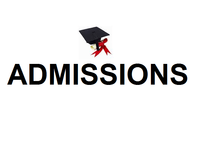 Admissions 2nd September 2021