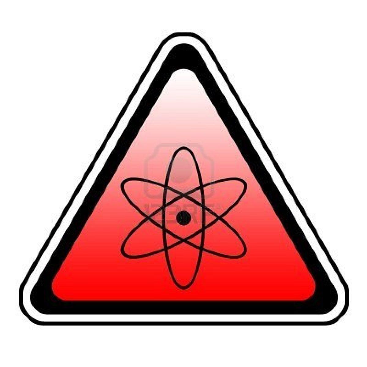 Printable Radiation Warning Symbol