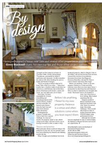 French Property news article page 1