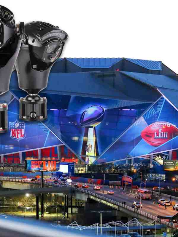 360 Vision's Invictus PTZ camera enlisted to protect Super Bowl LIII