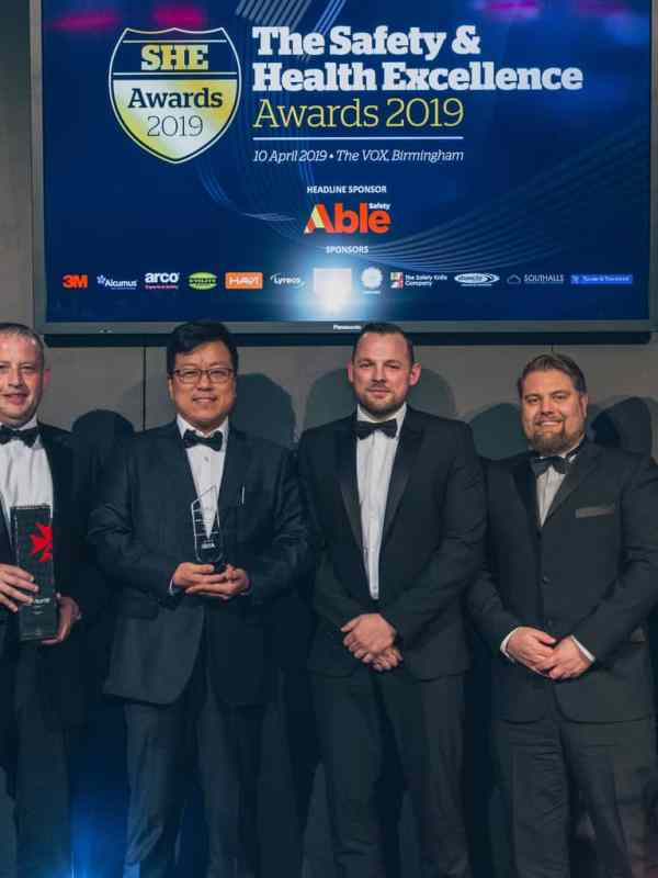 Double safety & health awards success for IDIS video technology