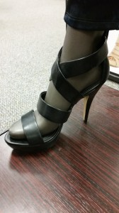 strappy heels by Rock & Republic $69.99