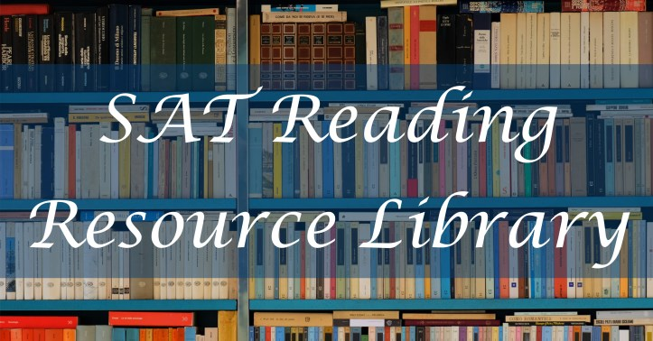 Link to SAT Reading Resource library