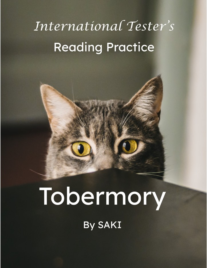 Cover of SAT Reading practice short story