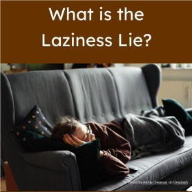 Image of person lying on a sofa. This image links to a collection of 5 articles for SAT reading practice.