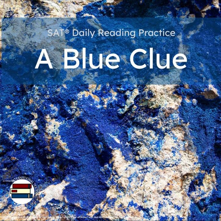 A Blue Clue