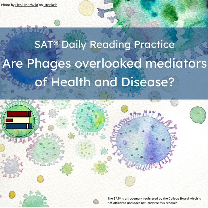 Are phages overlooked moderators of health and disease