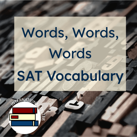 sat vocabulary cover for blogpost about vocabulary complexity on the SAT