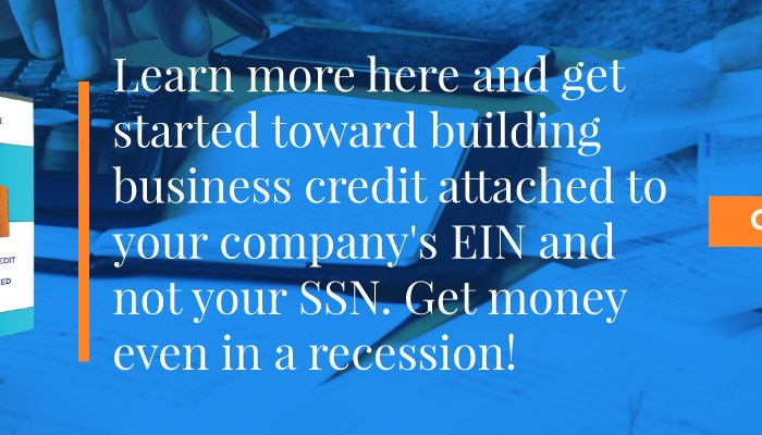 Here's a Great Question from Residential Real Estate Agents: How Do I Build Recession Business Credit
