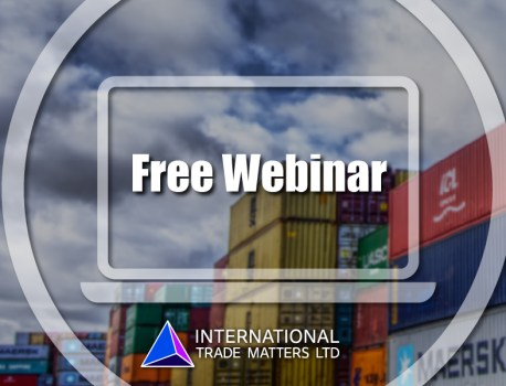 Free Webinar – The Importance of Incoterms