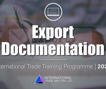 Export Documentation Course