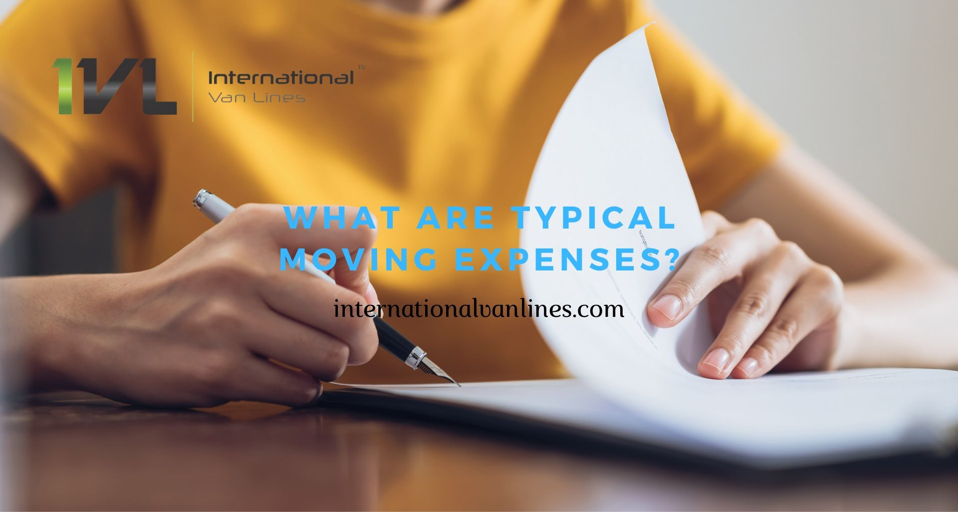 Typical Moving Expenses
