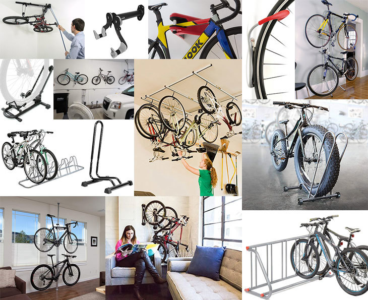Bike storage racks