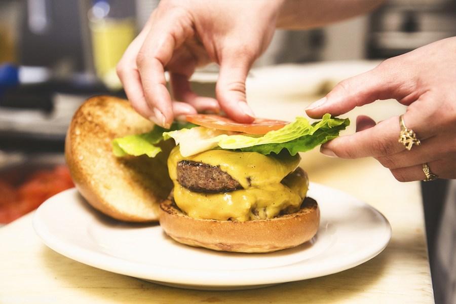 #Making healthy burger - Zing Burger Recipe Contest