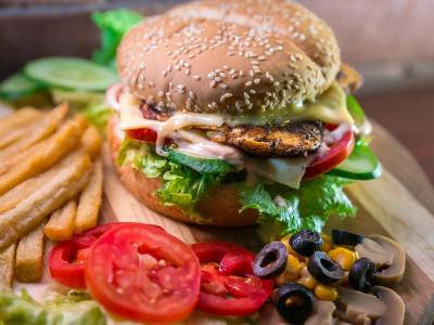 italian chicken burger