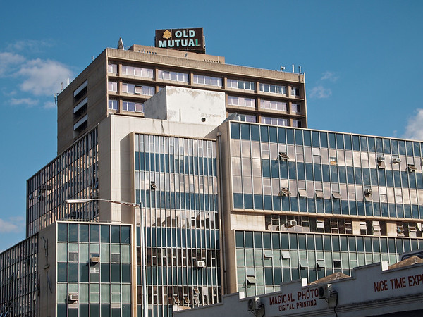 Harare Puts The Brute Back Into Brutalism ©2011 Jason Hindle