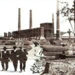 Elektrownia został wybudowana w 1898 roku, miała wtedy moc 0,84 MW. W 1902 r. zainstalowano 2 największe generatory z produkowanych wówczas w Europie - maszyny parowo tłokowe, które napędzały generatory o mocy 2,5 MW kazdy. Obecnie najstarsza elektrownia na ziemiach polskich została zlikwidowana.