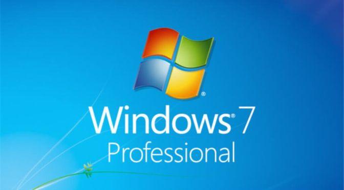 Wsparcie techniczne systemu Windows 7 skończyło się 14 stycznia 2020 r.