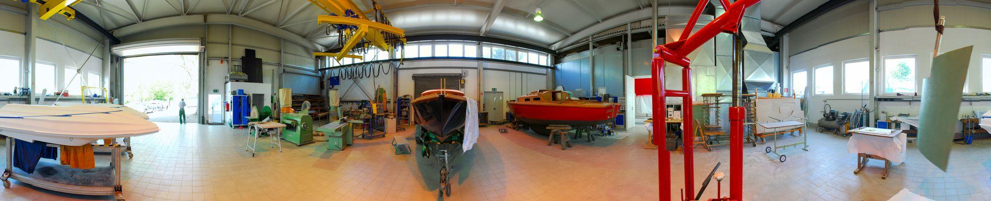 Panorama Bootswerft Baumgart Dortmund