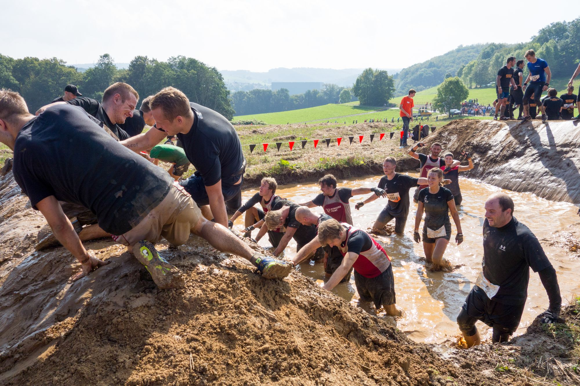 "Hindernis ""Pitfall"" Tough Mudder 2014"
