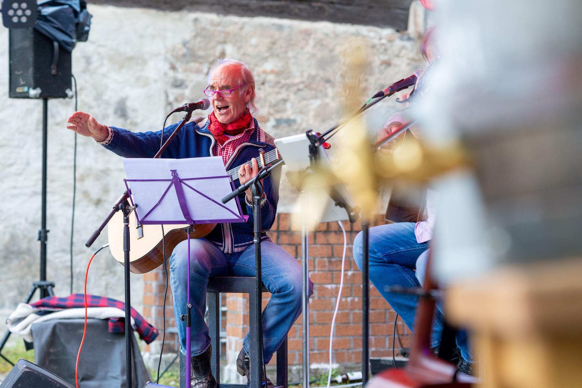 """Der Berg ruht"" 2021 Konzert Erlangen"