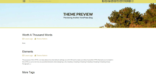 WordPress  Dellow  Free WordPress Themes