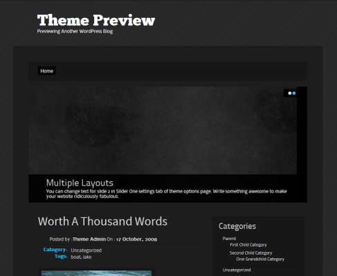 WordPress  Venom  Free WordPress Themes