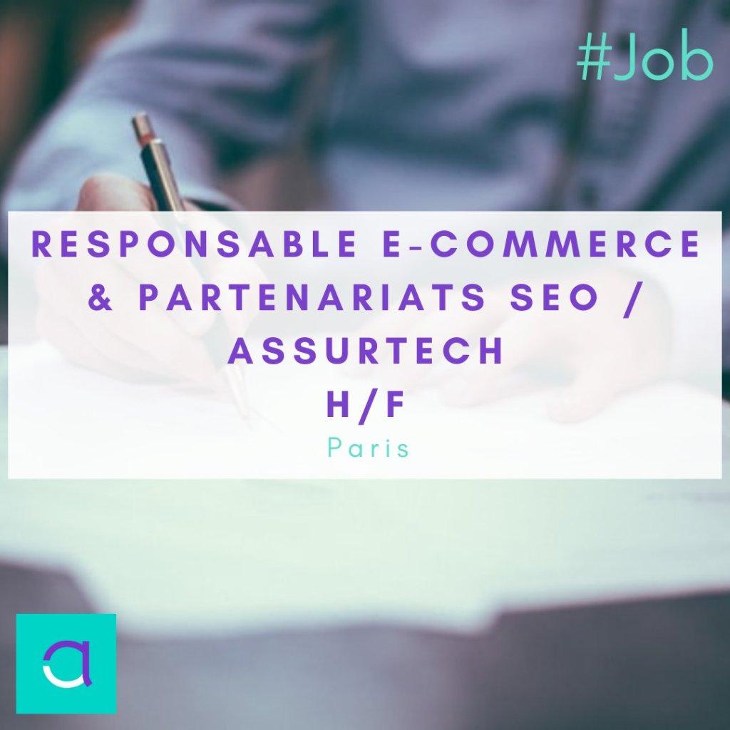 [#EMPLOI] @altaide recherche un(e) Responsable E-commerce & Partenariats SEO / A...