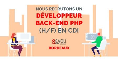 #Emploi  Passionné(e) par le développement #web ? Nous avons ce qu'il vous faut ...